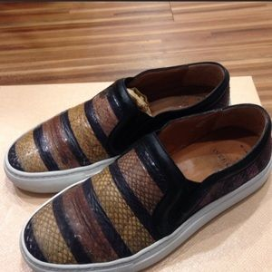 Givenchy Leather Slip On Sneakers Size 5.5-6